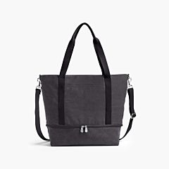 The Catalina Deluxe Tote - Washed Canvas - Midnight Ash