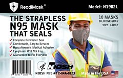 NIOSH Certified N95 Duckbill Respirator - 10 Masks